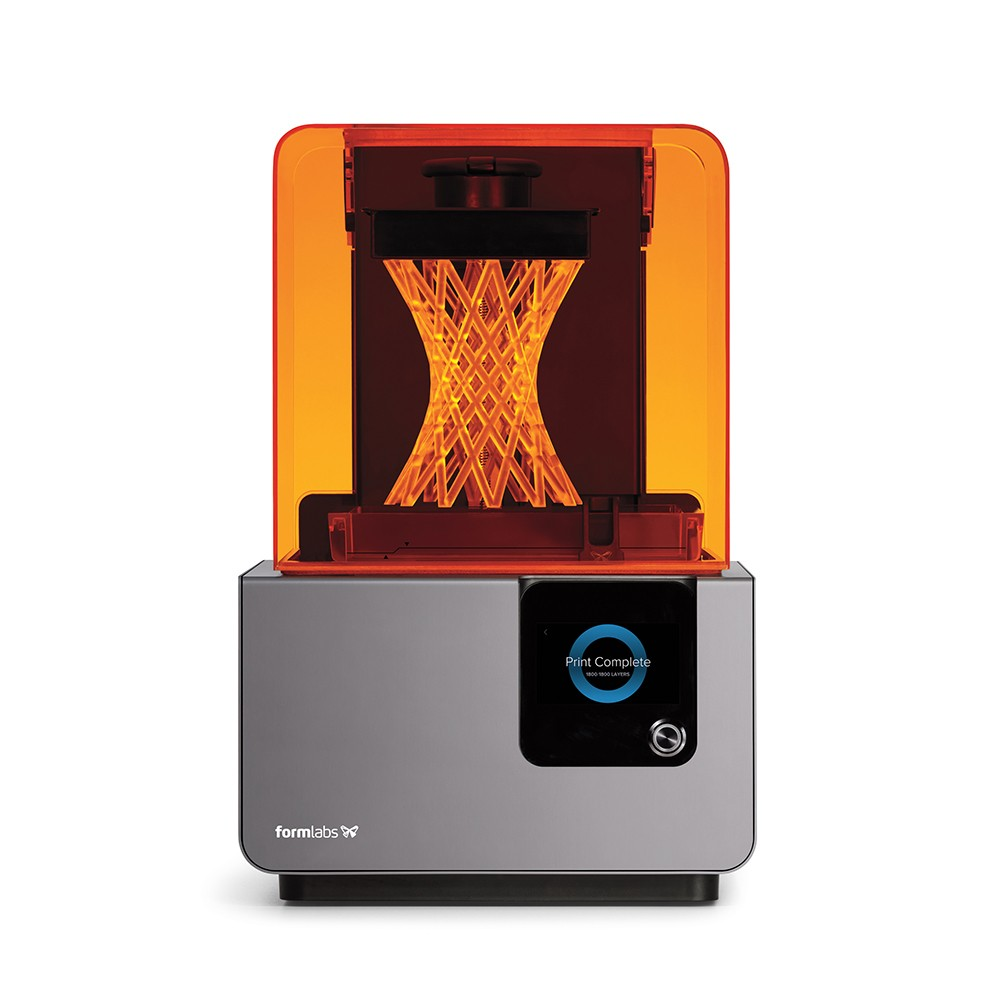 2018's Desktop Non-FFF 3D Printer of the Year the Form 2. Photo via Formlabs
