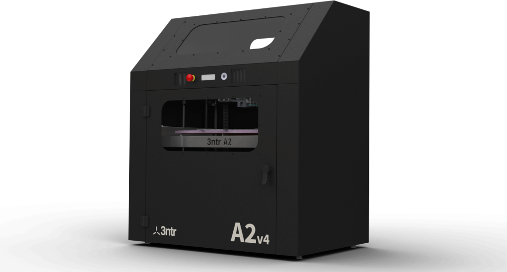 The 3ntr A2V4 3D printer. Image via 3ntr