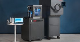 The Rapidia metal 3D system, printer and furnace. Image via Rapidia.