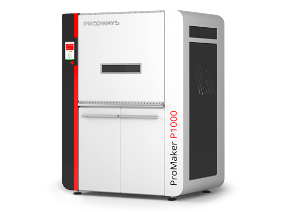 ProMaker P1000 3D printer. Image via Prodways.