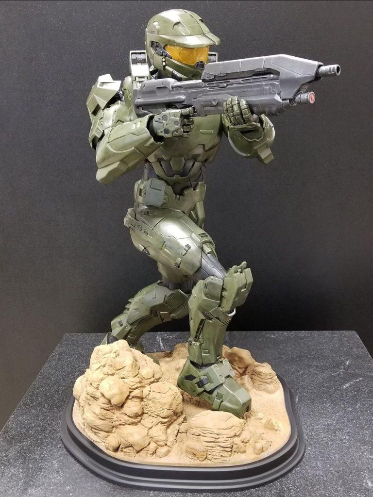 3D printed Halo Master Chef model. Photo via Melt-L-Flo