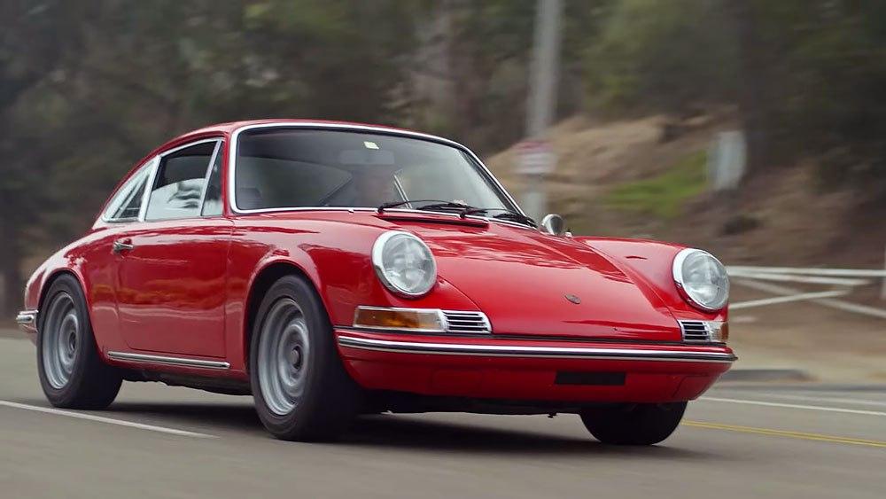 A 1969 Porsche 911. Image via Robb Report.