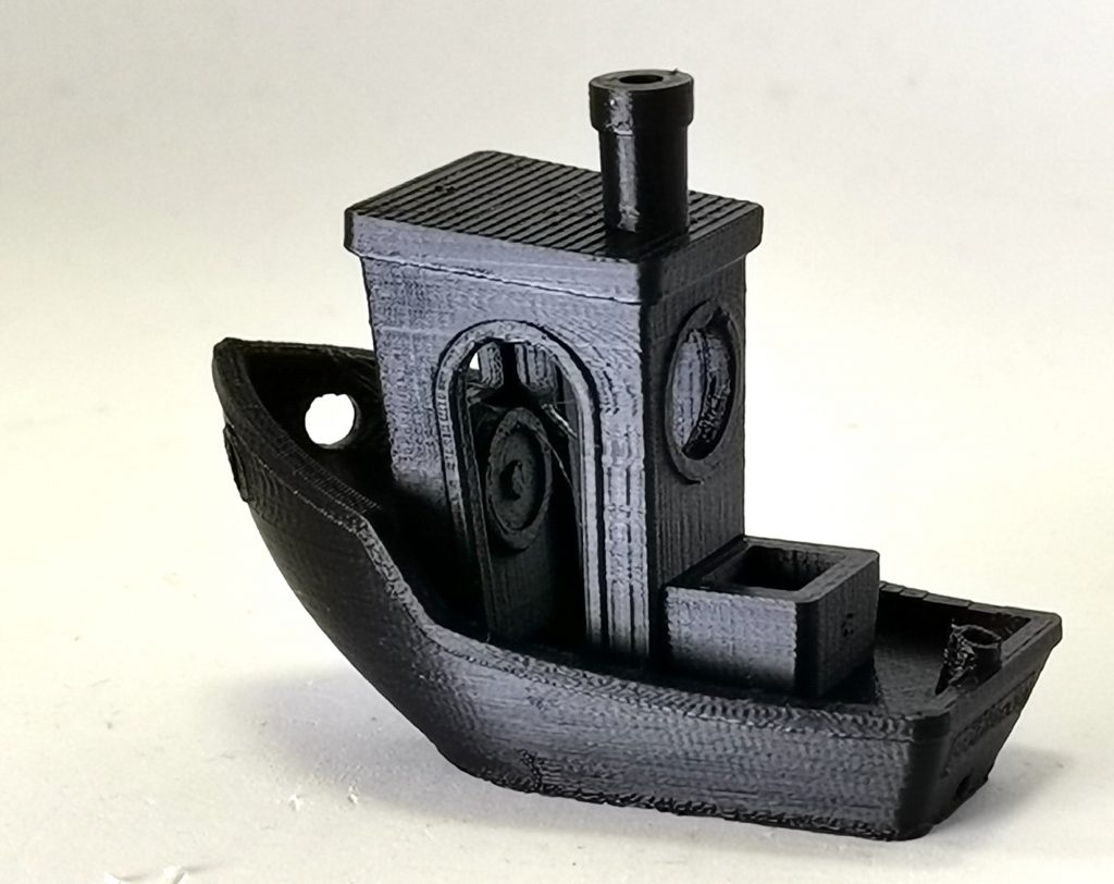 3D Benchy 3D printed on the Dremel Digilab 3D4. Photo by 3D Printing Industry