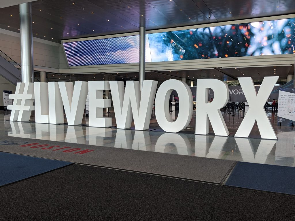 Inside LiveWorx 2019. Photo by Dayton Horvath