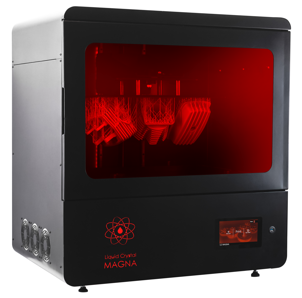 The LC Magna 3D printer. Photo via Photocentric
