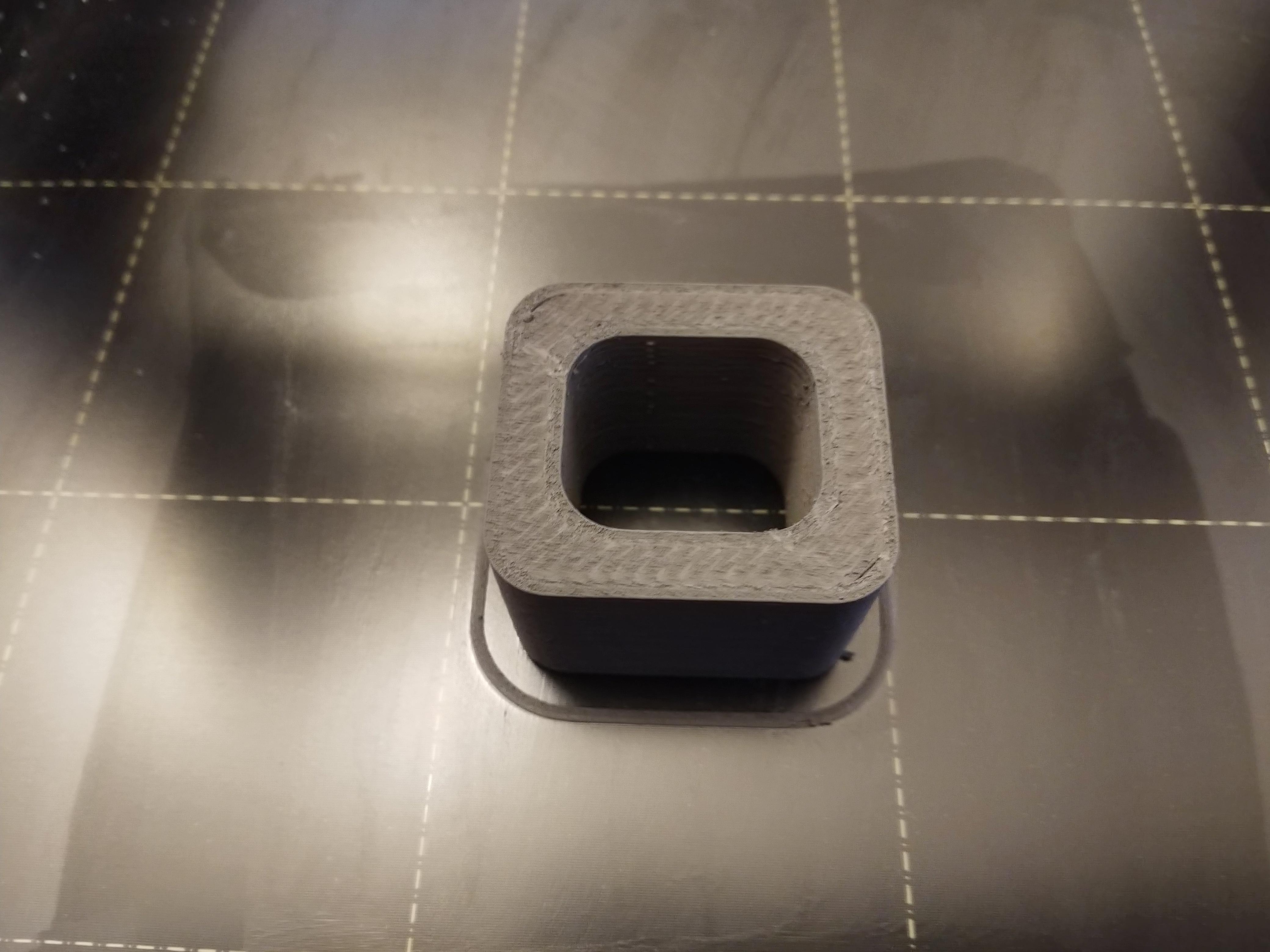Stainless Steel 316L filament by Metallum3D, 3D printed on an FDM/FFF machine. Image via Metallum3D.