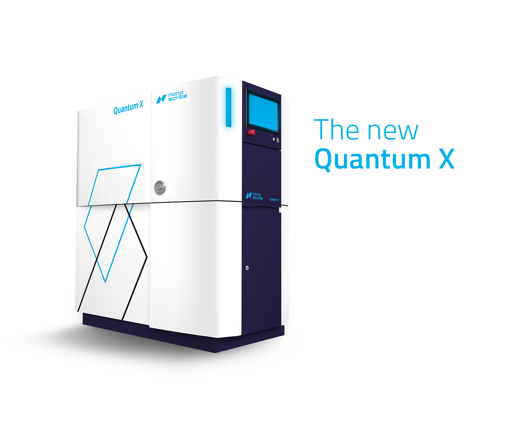 The two-photon Quantum X machine. Image via Nanoscribe.