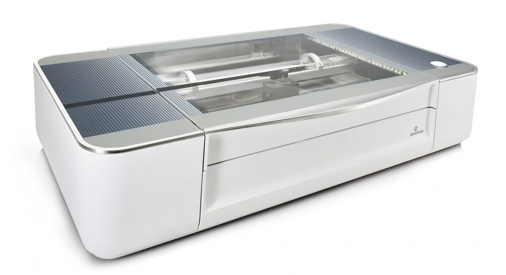 The Glowforge 3D Laser Printer. Photo via Glowforge