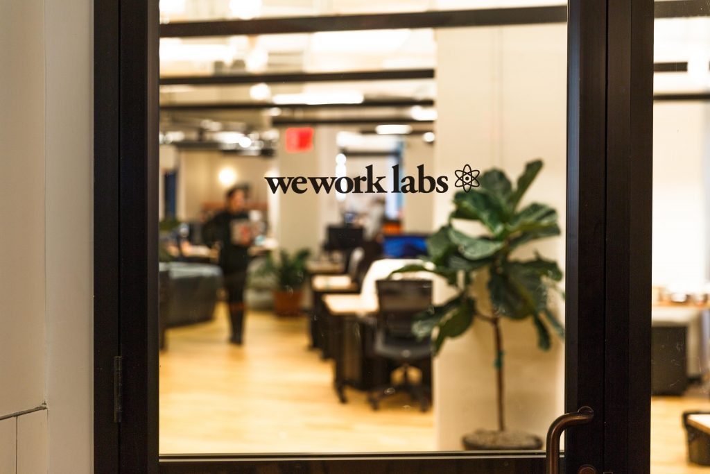 A WeWork Labs space in Dumbo, Brooklyn. Photo via WeWork