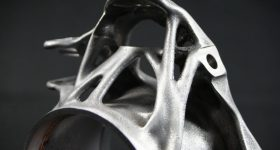 Complex lightweight metal 3D printed structures. Photo via AMendate.