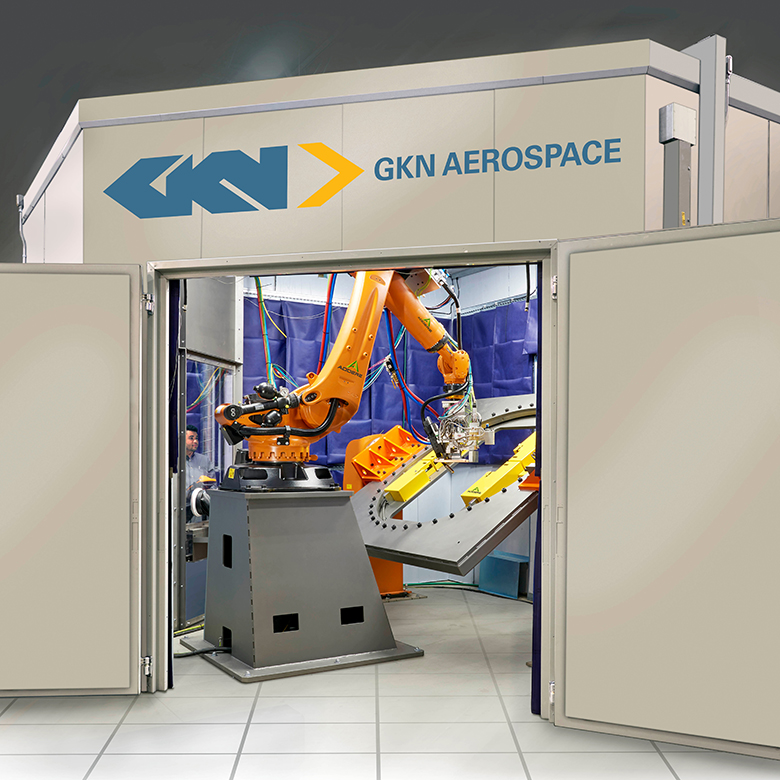 GKN Aerospace's Cell 2 at Oak Ridge National Laboratory. Photo via GKN Aerospace