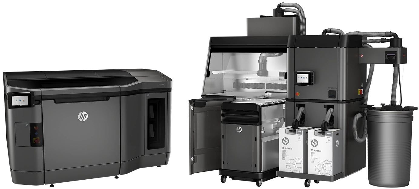 HP 4200 Multi Jet Fusion 3D printer. Image via HP.