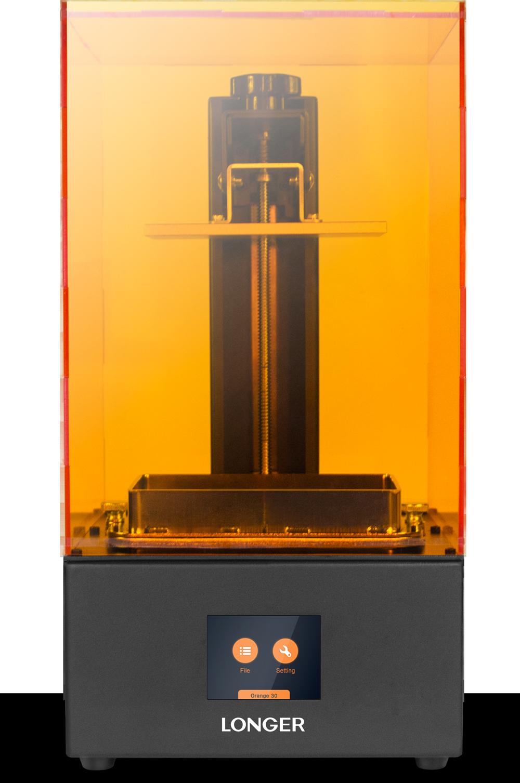 Longer 3d Launches Affordable Desktop Sla Orange 30 3d