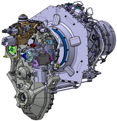Concept model of the Add+ engine demonstrator. Image via Safran