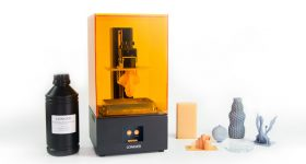 The Orange 30 SLA 3D printer from Longer 3D. Photo via Longer 3D.