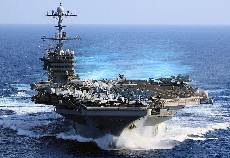 The USS George Washington (CVN73) aircraft carrier. Image via Military Factory.