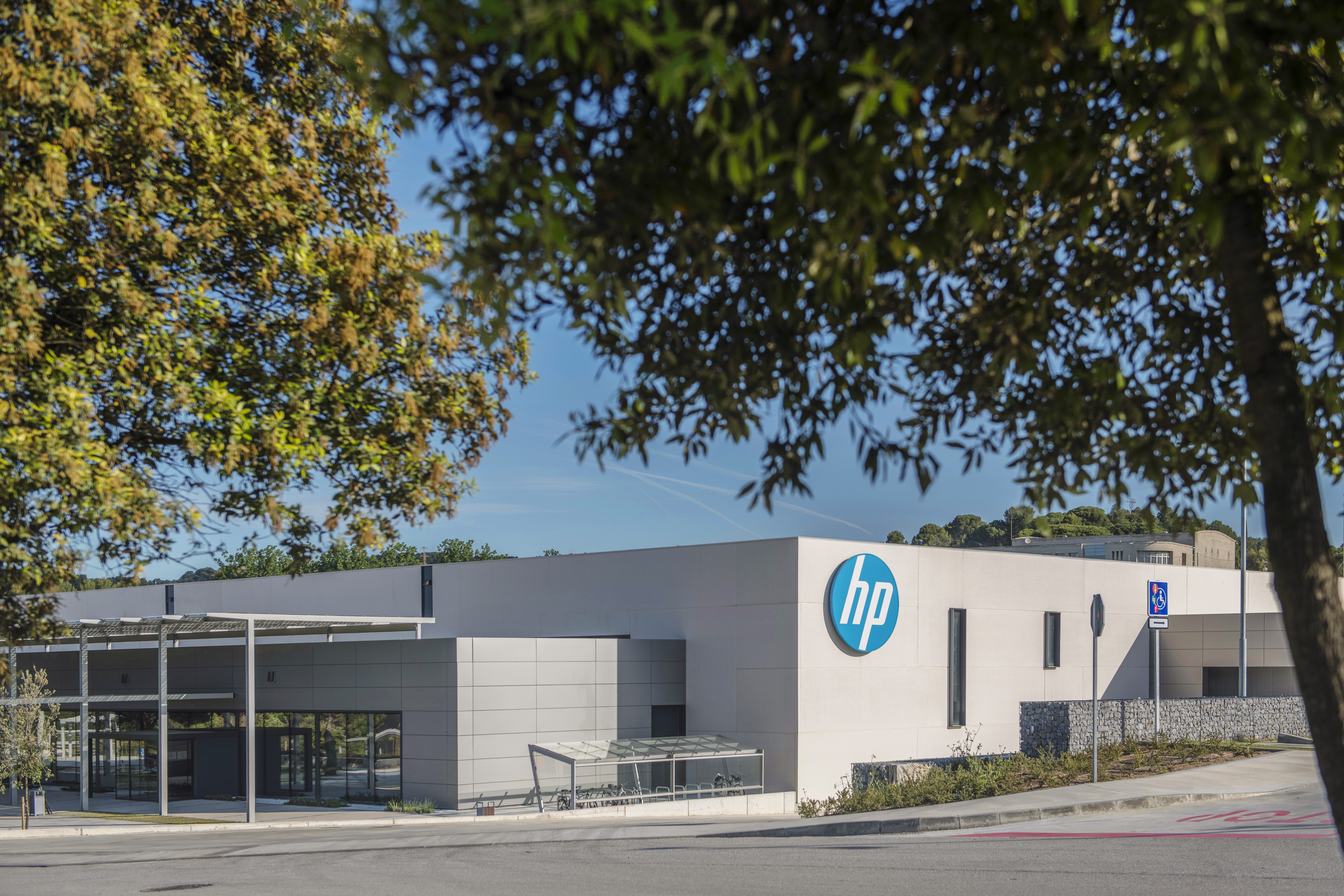 The HP 3D Printing and Digital Manufacturing Center of Excellence. Photo via Vicens Gimenez/HP.