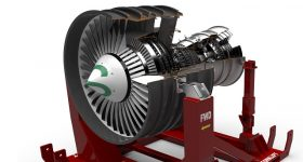 An engine designed in Siemens NX. Image via Siemens.