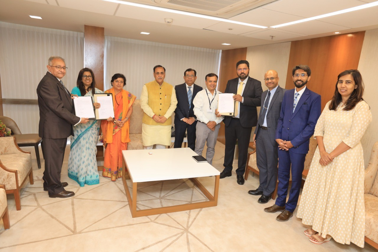 3D Systems signed an MoU with USI3DT and the Gujarat Government. Photo via 3D Systems.