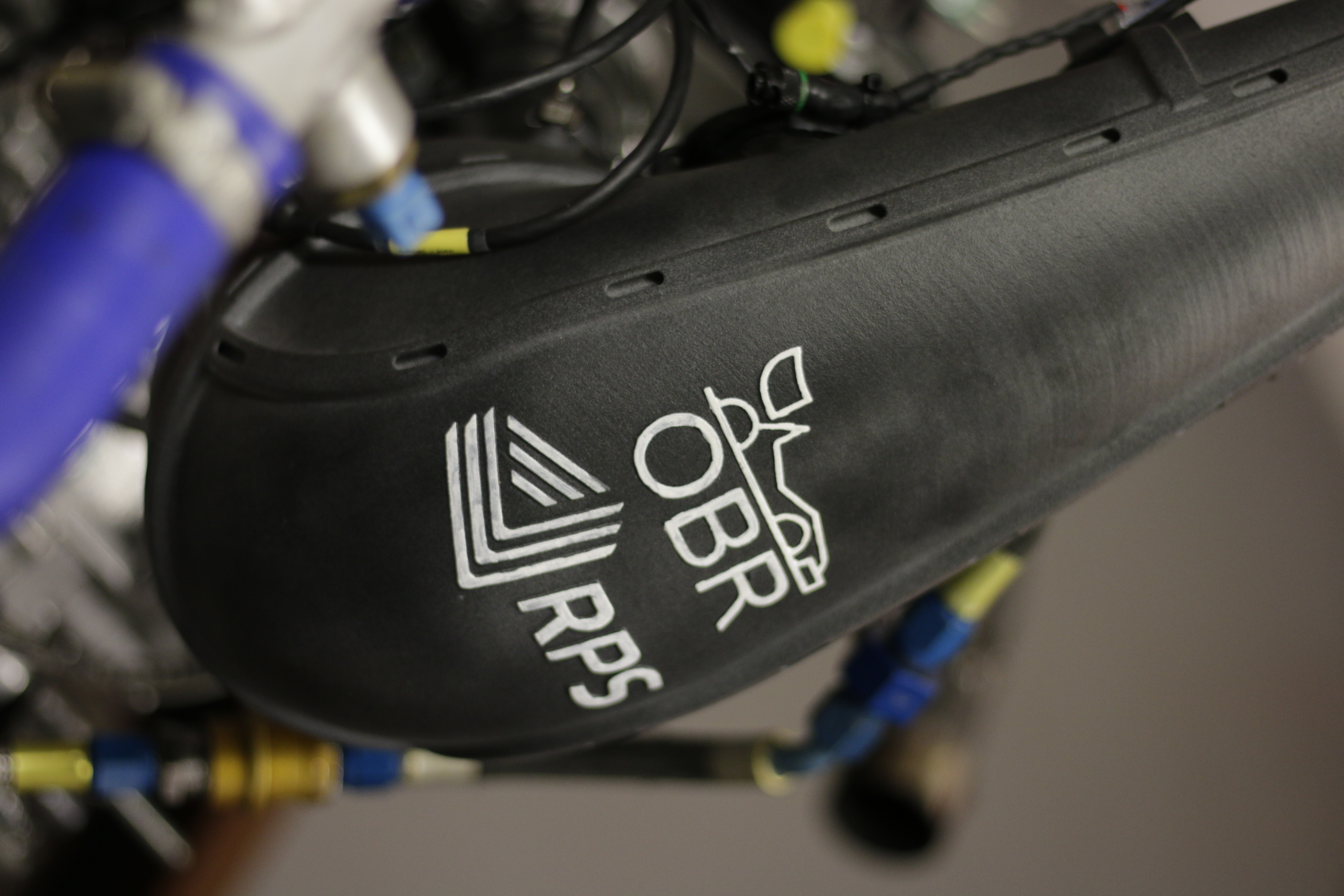 The OBR and RPS logo, side by side. Photo via RPS.