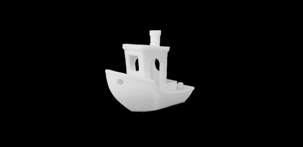 3D Benchy made on the 3DWOX 2X
