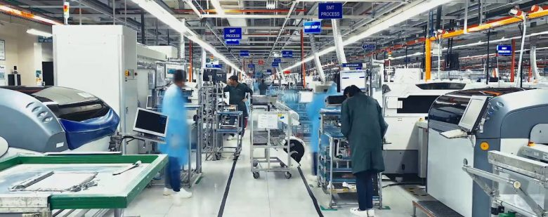 Inside a Jabil production facility. Photo via Jabil