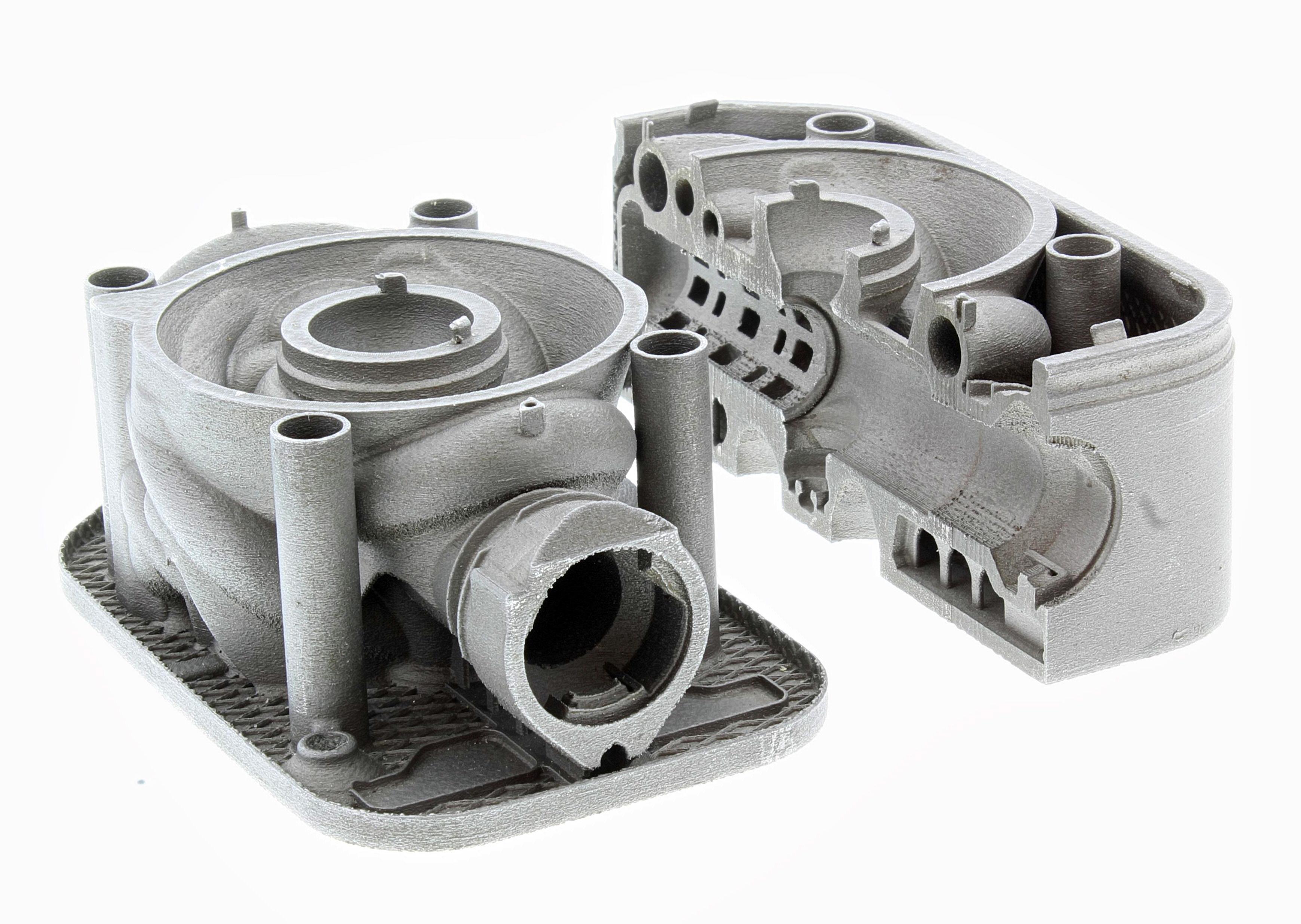 Domin's Fluid direct drive servo valve manufactured using AM