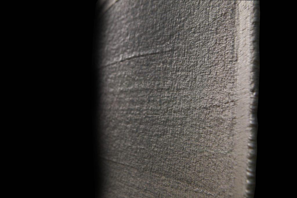Detail of the ADDere 3D printed turbine blade. Photo via MWES