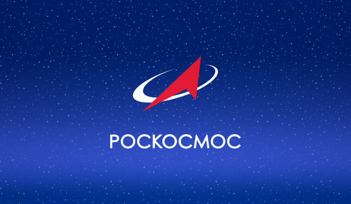 Logo for Russian space corporation Roscosmos. Image via Roscosmos