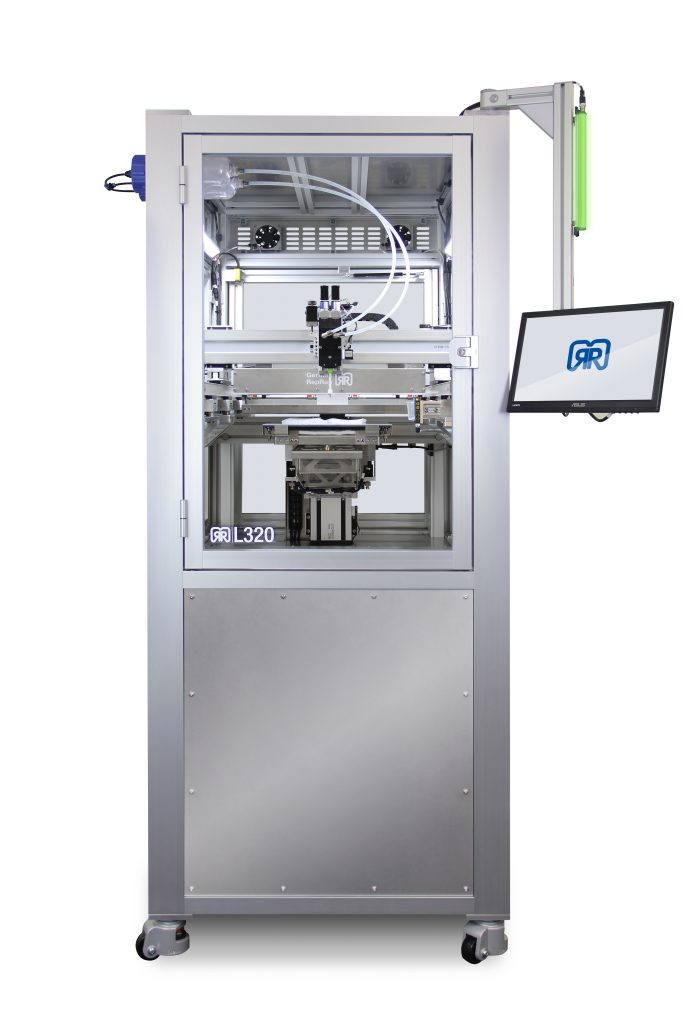 The German RepRap L320. Photo via German RepRap
