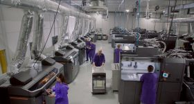 SmileDirectClub's manufacturing facility in Antioch, Tennessee. Photo via HP