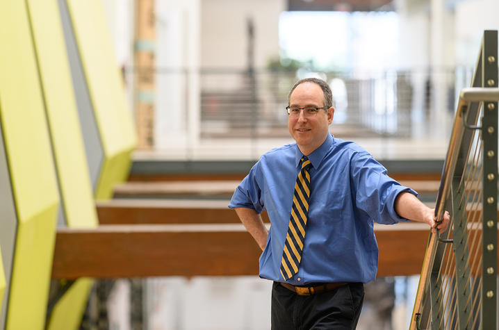 Professor Michael Winkler. Photo via the University of Kentucky.