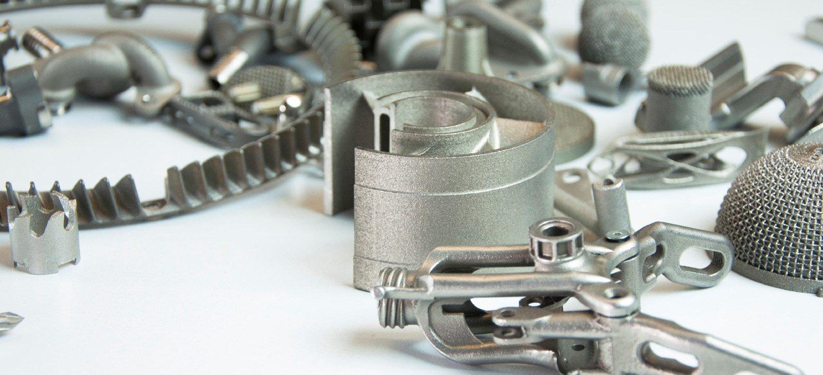 Metal 3D printed part from Beam IT. Photo via Beam IT