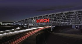 The Bosch parking facility in Stuttgart. Photo via Bosch.