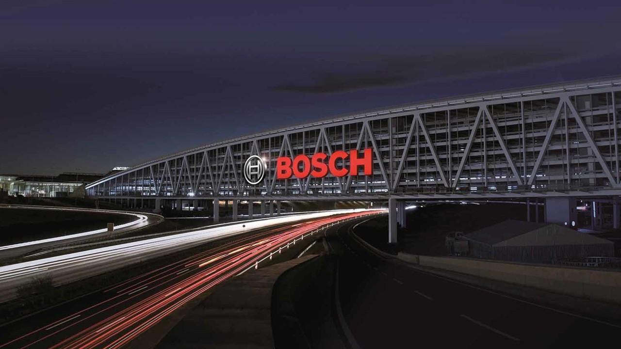 The Bosch parking facility in Stuttgart. Photo via Bosch.