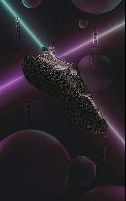 The 3D printed Future Fusion Peak3D sneaker .Image via Sjfzxm.