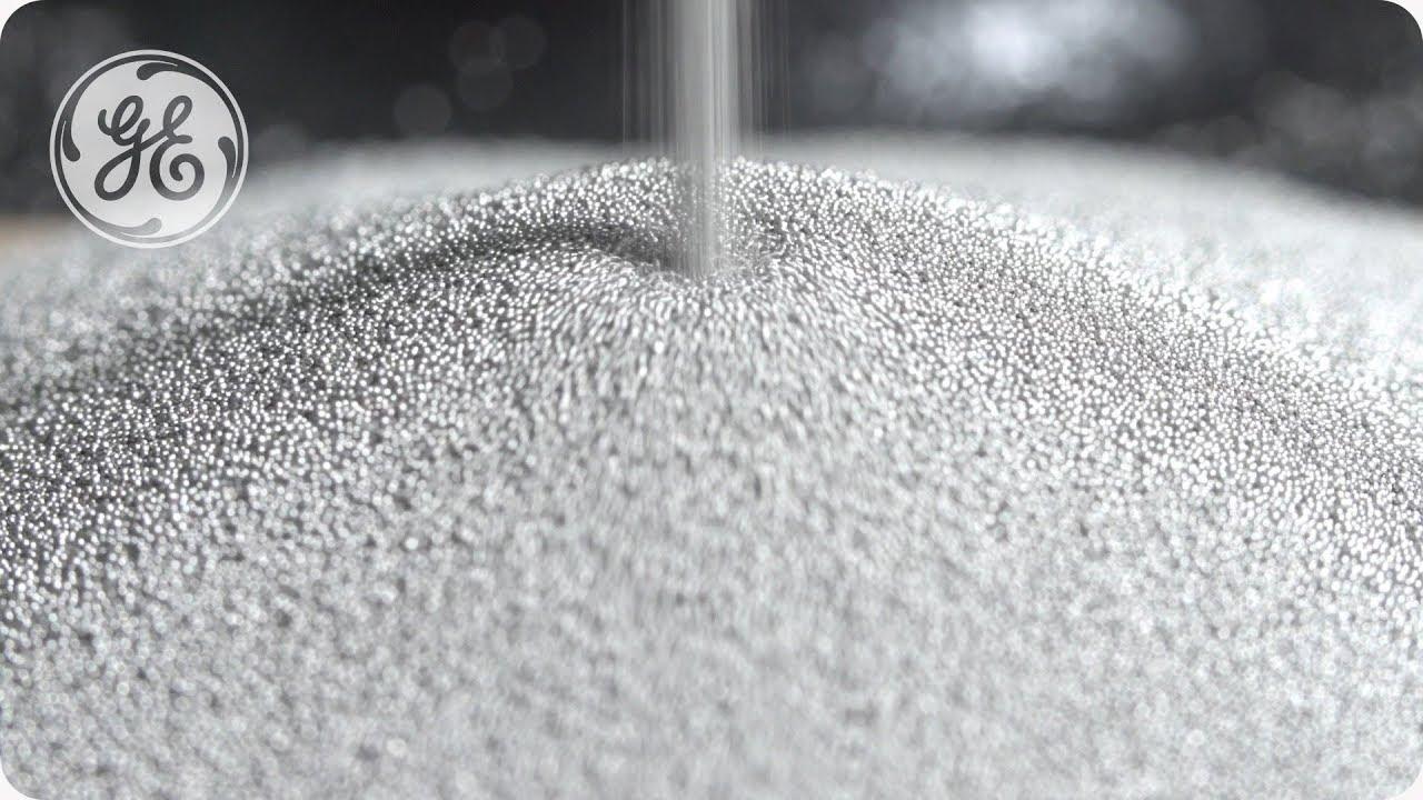 AP&C metal powder. Photo via GE Additive