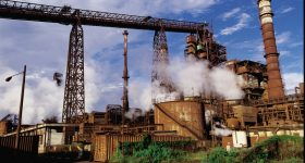 The ArcelorMittal production plant in Mexico. Photo via ArcelorMittal.