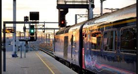A UK First Great Western train leaving Reading. Photo by rpmarks, via Flickr