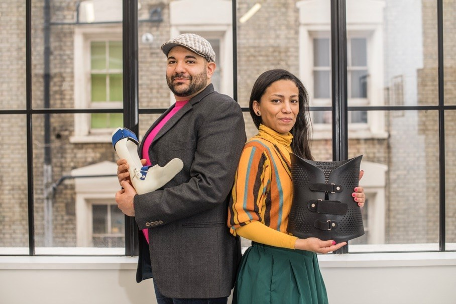 Naveed and Samiya Parvez, founders of Andiamo. Photo via Andiamo.