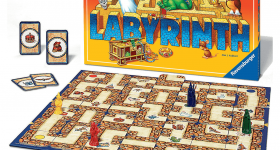 The Labyrinth board game. Image via Ravensburger.