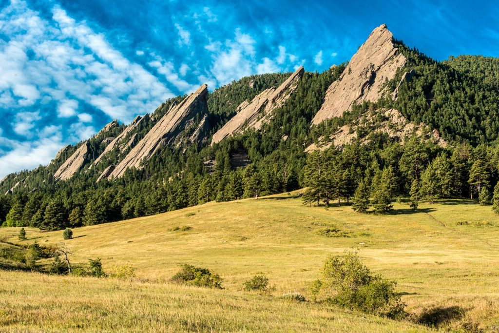 The Flatirons near Boulder, Colorado. Photo via NIST