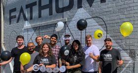 The FATHOM team celebrating 7th consecutive year on the Inc 5000 list. Photo via FATHOM.