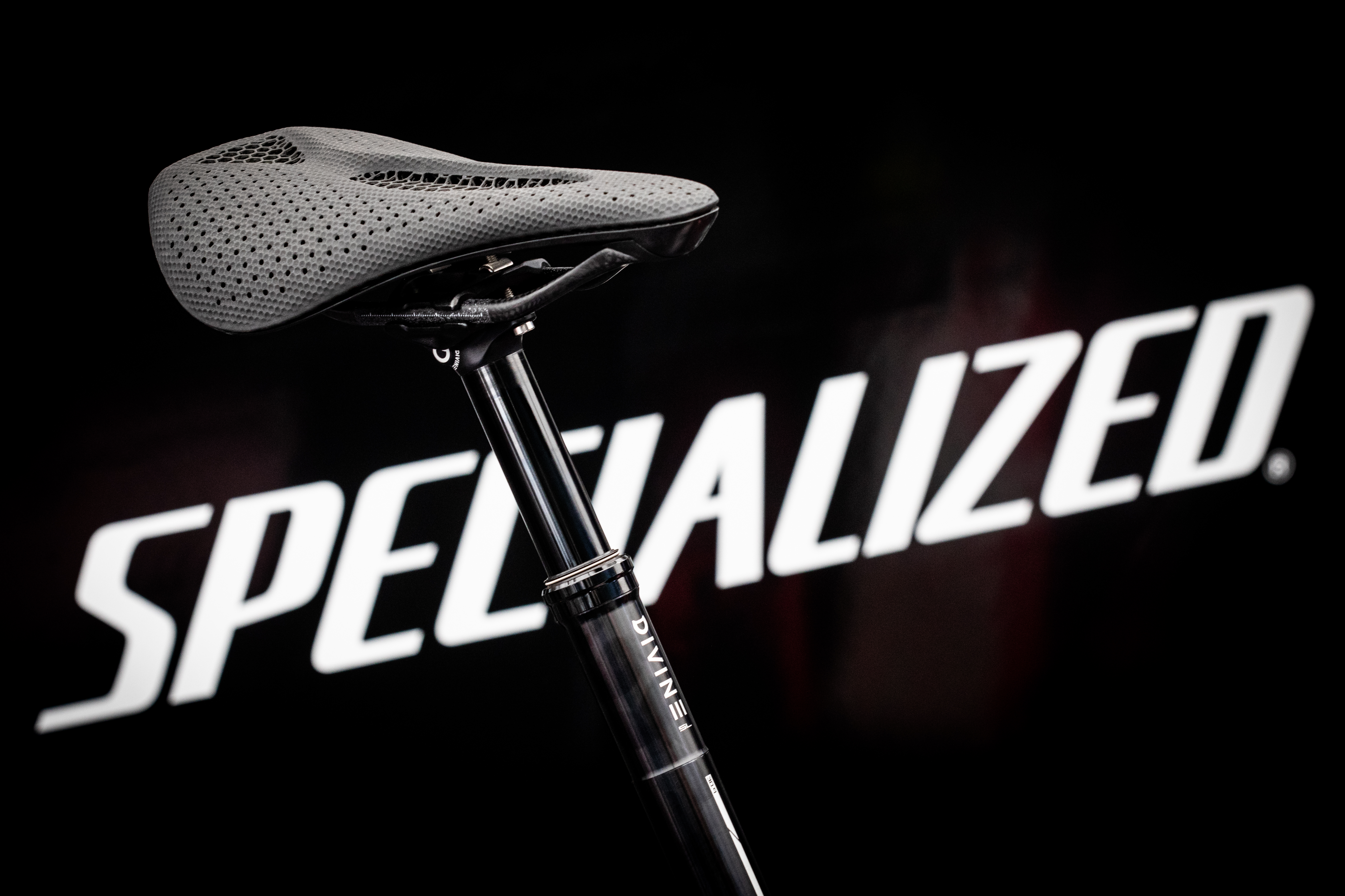The Specialized S-Works Power Saddle with Mirror Technology made in collaboration with Carbon. Photo via Carbon