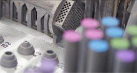 3D printed parts from Eaton. Photo via Eaton.
