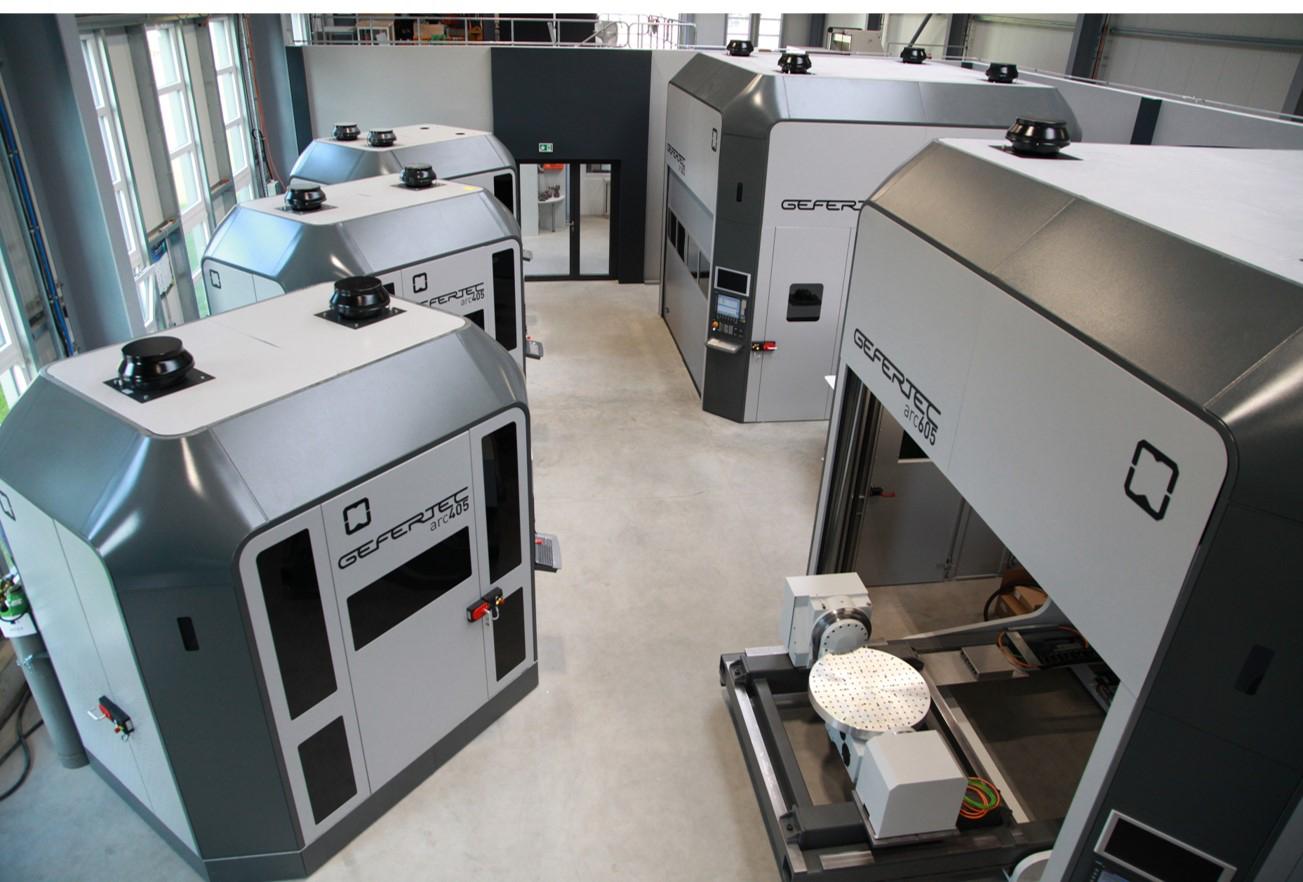 GEFERTEC application center. Photo via GEFERTEC.