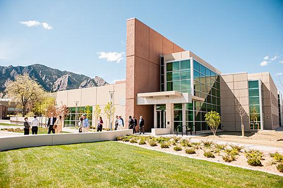 Katharine Blodgett Gebbie Laboratory Building at NIST. Photo via NIST