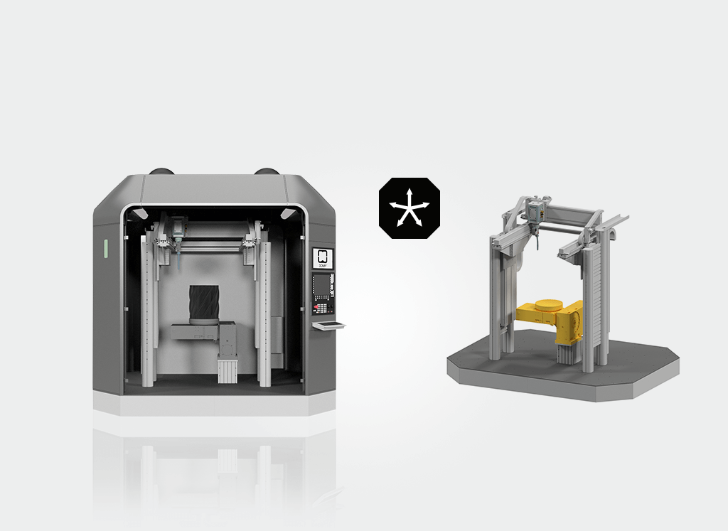 The arc405 additive manufacturing system. Image via GEFERTEC.