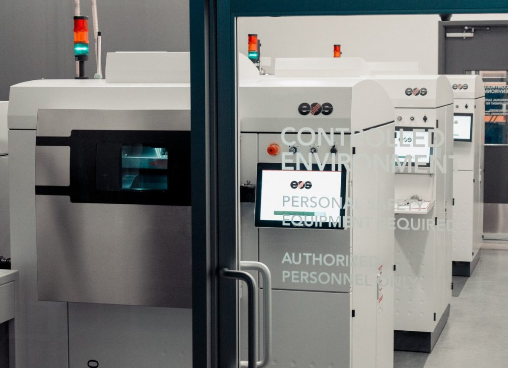 Additive manufacturing facility within Precision ADM. Photo via Precision ADM