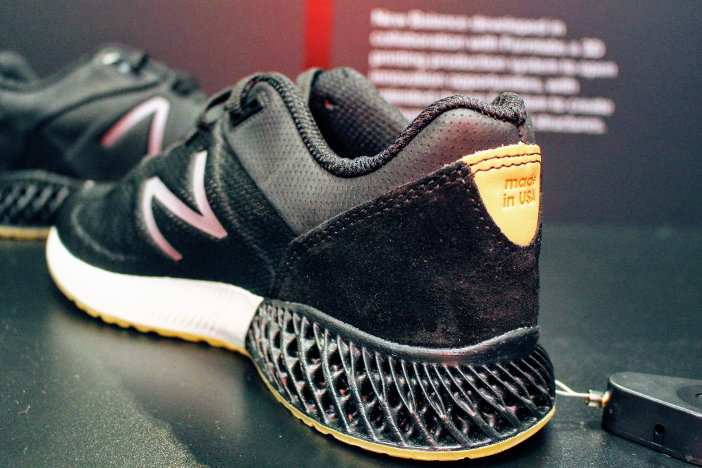 Formlabs New Balance TCT 2019. Photo by Michael Petch.